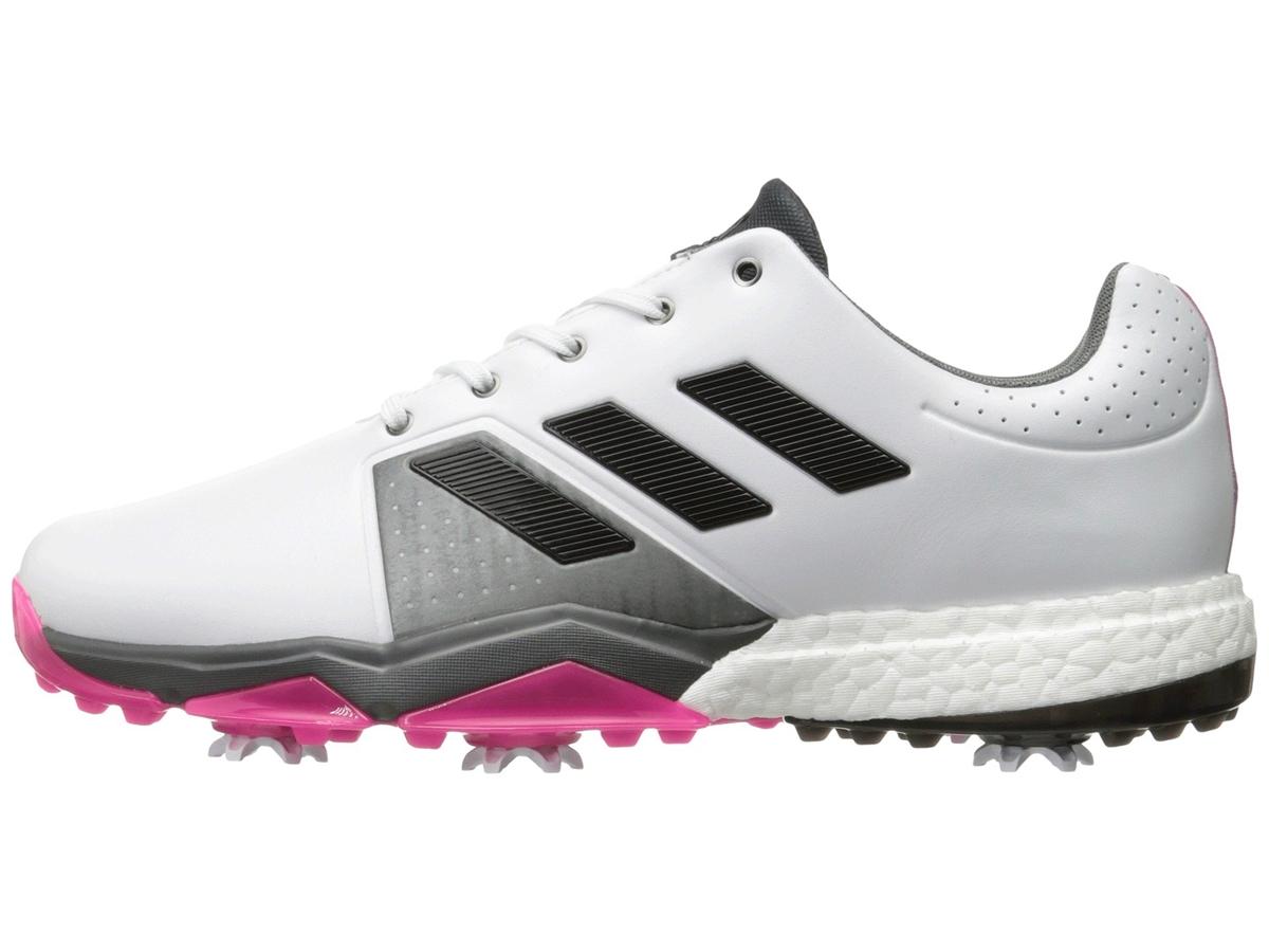 Adidas Adipower Boost 3 White/Core Black/Shock Pink - Medium - 10.5